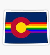 Colorado Pride! Sticker