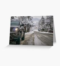 Jeep Grand Cherokee 75th anniversary  Greeting Card