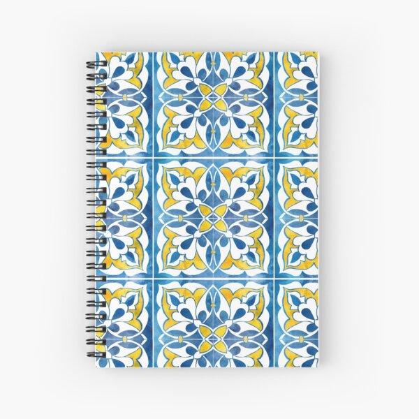 Spanish tile 2 Spiral Notebook
