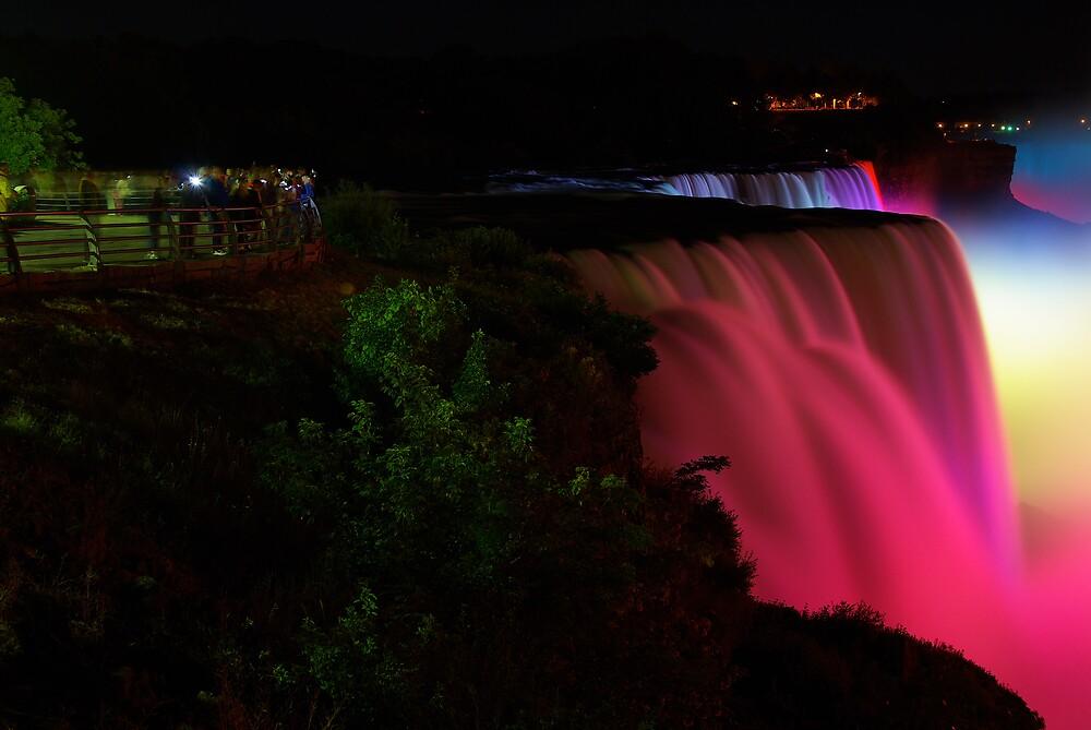 Niagara Falls Pink by kenc1959