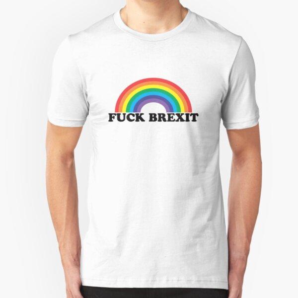 Fuck Brexit Slim Fit T-Shirt