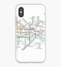 London Underground Map iPhone Case