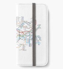 London Underground Map iPhone Wallet/Case/Skin