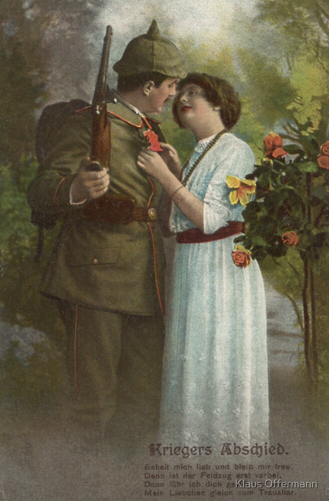 Soldier´s farewell by Klaus Offermann
