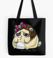 Sad kawaii hamsterpuff Tote Bag