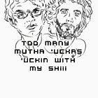 Flight of the Conchords Mutha 2 by loganferret