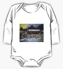 Snow Covered Garden Shed One Piece - Long Sleeve