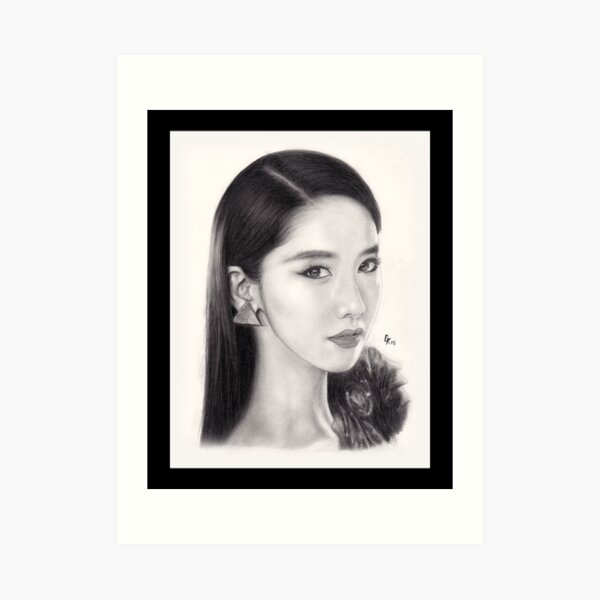 Girls' Generation Yoona Im Art Print