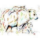 Bear Family - And Then There Were 3 by Lisa Whitehouse