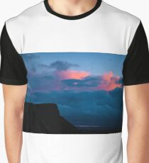 Arthur's Seat Sunset Graphic T-Shirt