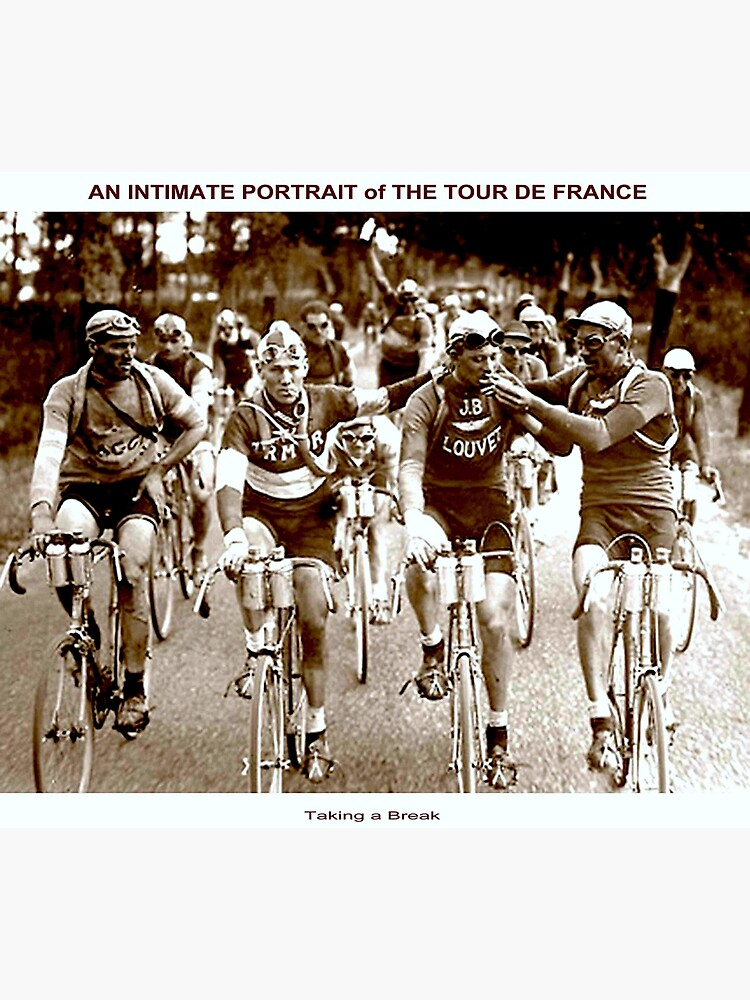 TOUR DE FRANCE; Vintage Cycle Racing Advertising Photo by posterbobs