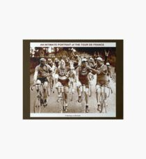 TOUR DE FRANCE; Vintage Cycle Racing Advertising Photo Art Board