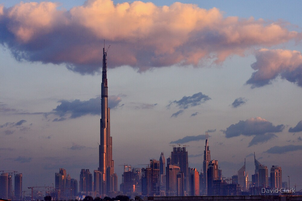Dubai Sunrise by David Clark