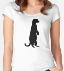 Meerkat Women's Fitted Scoop T-Shirt