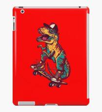 T-Rex on skateboard iPad Case/Skin