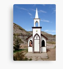 The Little Church Canvas Print