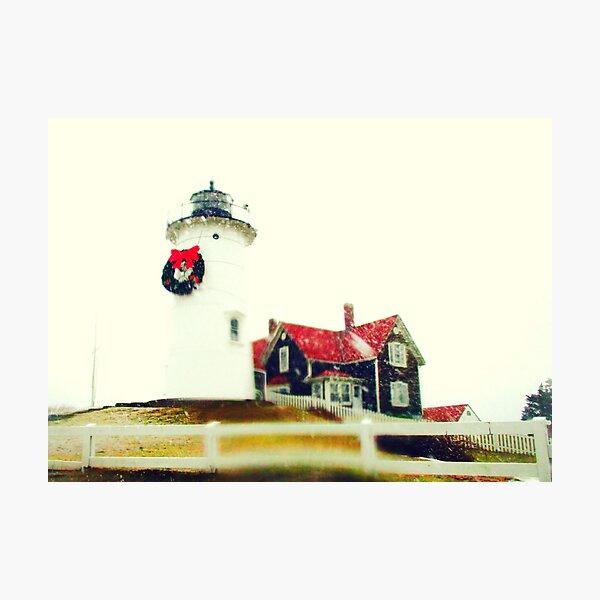 Cape Cod Christmas Photographic Print