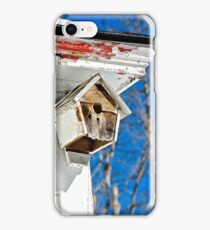 Time to fix the birdhouse iPhone Case/Skin