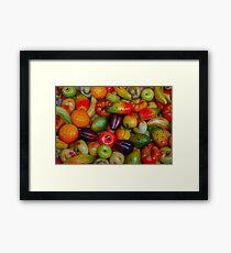 A treats for Christmas Framed Print