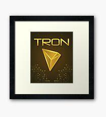 Tron TRX Justin Sun Framed Print