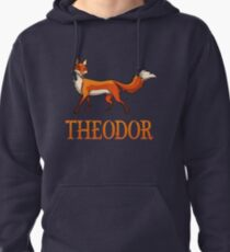 Theodor Fox Pullover Hoodie
