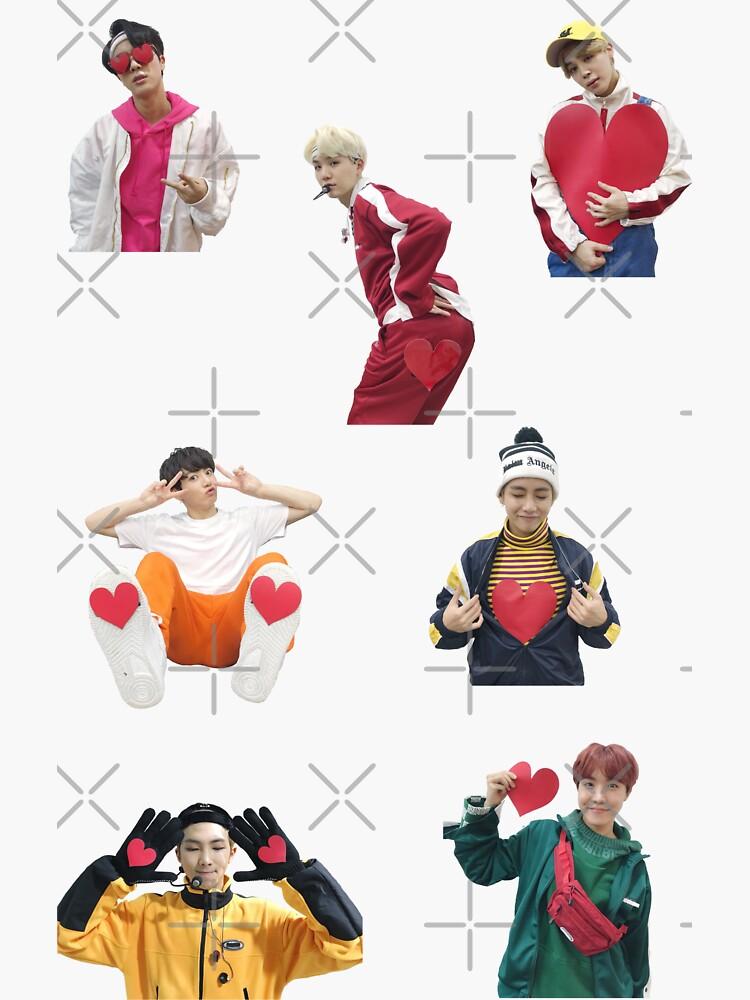 BTS gogo Herzen von MBC NYE von KatieSaunders00