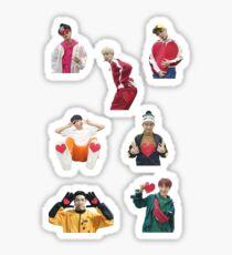 BTS gogo Herzen von MBC NYE Sticker