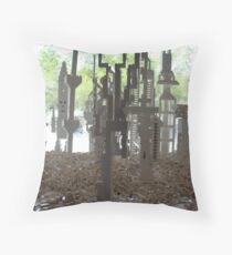 National Gallery Window V Throw Pillow