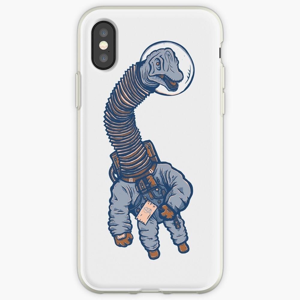 Astro Brachiosaurus Funda y vinilo para iPhone