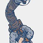 Astro Brachiosaurus by strangethingsA