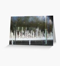 National Gallery Window VII Greeting Card