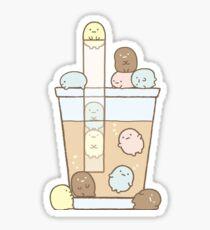 Sumikko gurashi - bubble tea time ! Sticker
