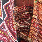 Tunisian carpet shop by DeborahDinah