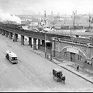 Flinders Street - Railway Bridge (1910's) by Stuart Blythe