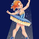 Blue Ballerina by Destiny Lauritsen