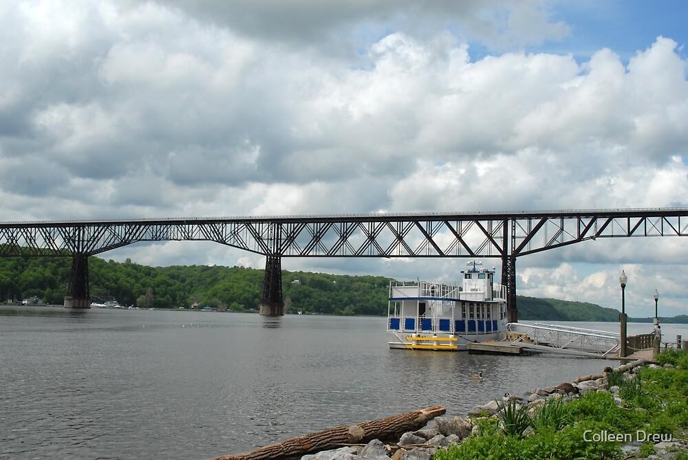 Poughkeepsie Railroad Bridge by Colleen Drew