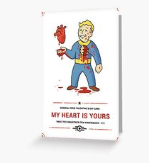 Love in the Wasteland Greeting Card