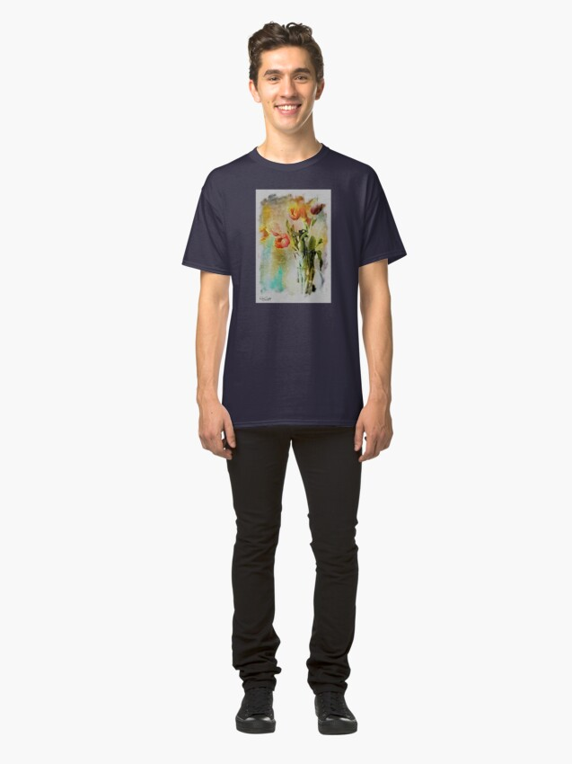 Alternate view of Dreaming of Tulips Classic T-Shirt