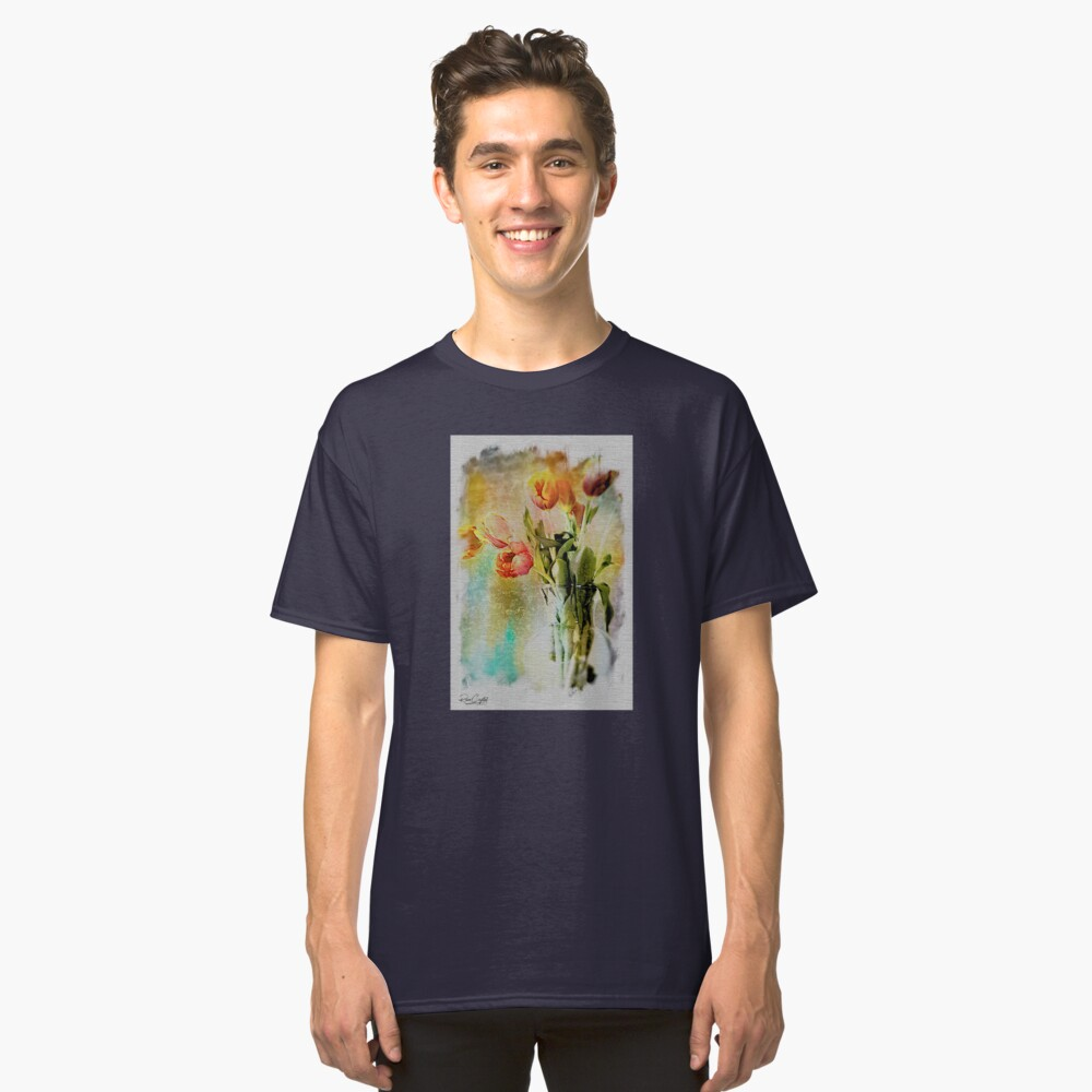 Dreaming of Tulips Classic T-Shirt
