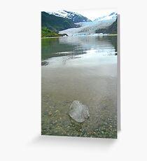 Glacier IceCube Greeting Card