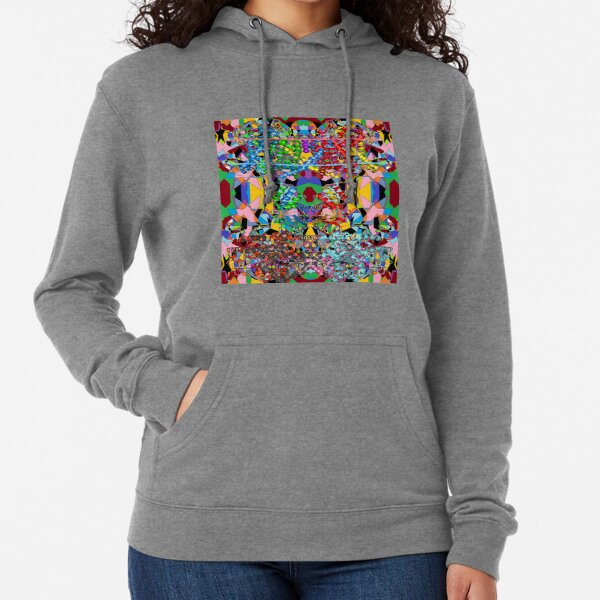 Motley chaotic pattern - Chaos Lightweight Hoodie