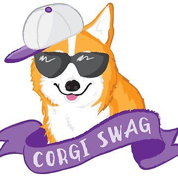Corgi Swag by HannyFranco