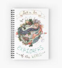 Explorer's of the World Spiral Notebook