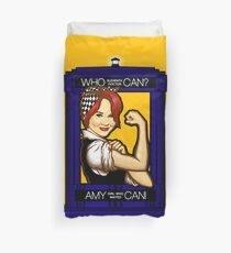 Amy Can! Duvet Cover