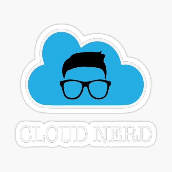 Cloud Nerd  Sticker