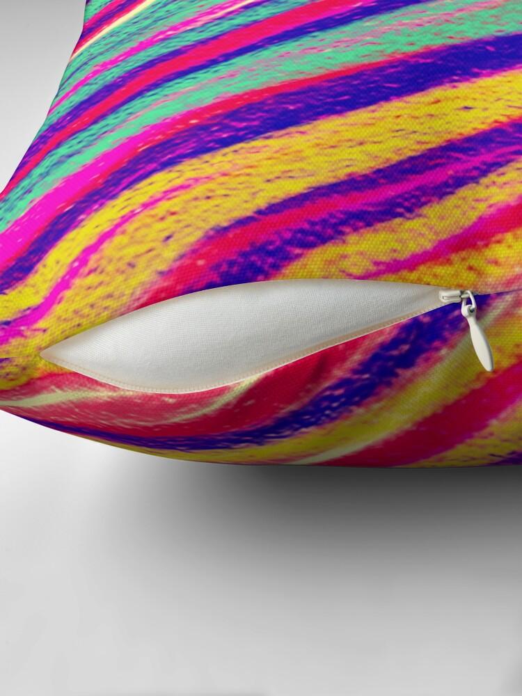 Alternate view of Rainbow Dream Throw Pillow