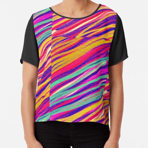 Rainbow Dream Chiffon Top