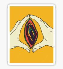Vagina Vulva Art Sticker