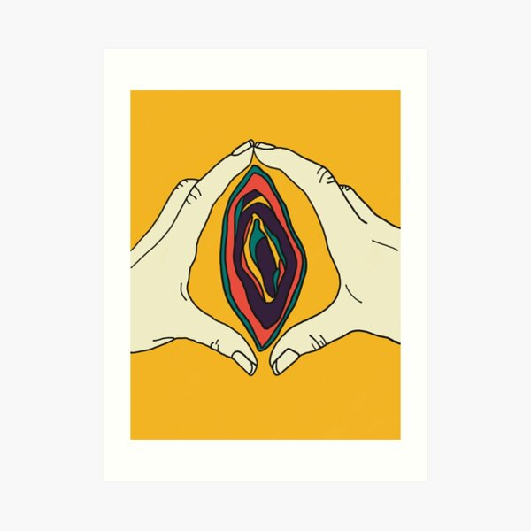 Vagina Vulva Art Art Print