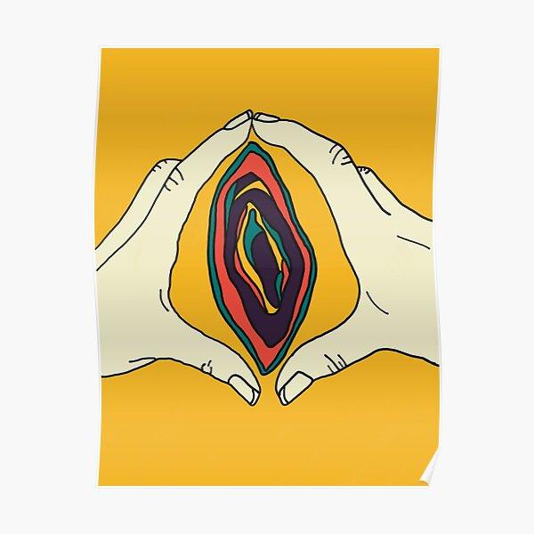 Vagina Vulva Art Poster